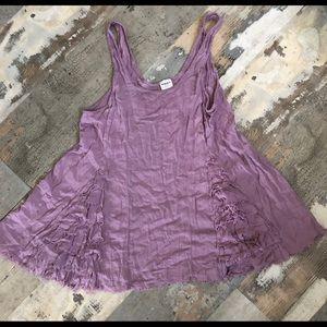 Free people purple blush loose tank size xs